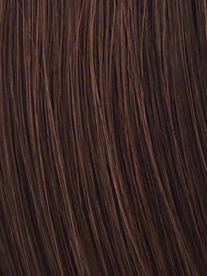 Raquel Welch Wigs | R6/30H | Chocolate Copper | Dark Brown with soft, Coppery highlights