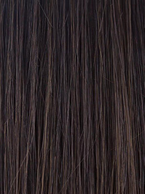 Amore Wigs | DARK CHOCOLATE | Dark Brown and Medium Brown evenly blended