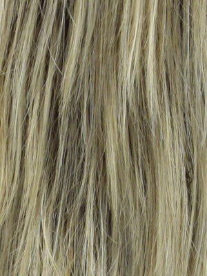 Noriko Wigs | SANDALWOOD H | Rooted Dark with Dark Gold Blonde with Platinum Blonde highlights