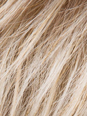 Ellen Wille Wigs | SANDY BLONDE ROOTED | Medium Honey Blonde, Light Ash Blonde, and Lightest Reddish Brown blend with Dark Roots