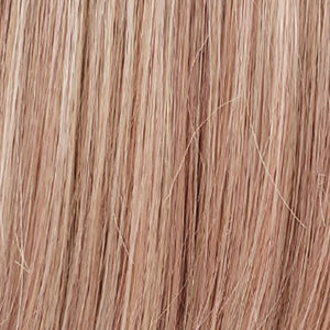 Estetica Wigs | SMOKYROSE | Platinum Blonde & Rosewood Blend with a Soft Warm Glow