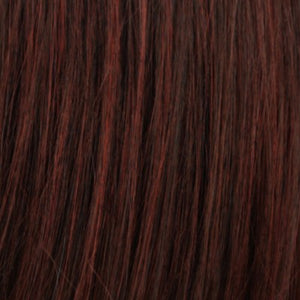 Estetica Wigs | SPICE | Dark Brown/Medium Auburn Blend