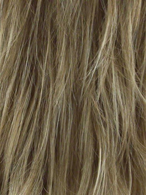 Noriko Wigs | SPRING HONEY R | Honey Blonde and Gold Platinum Blonde evenly blended