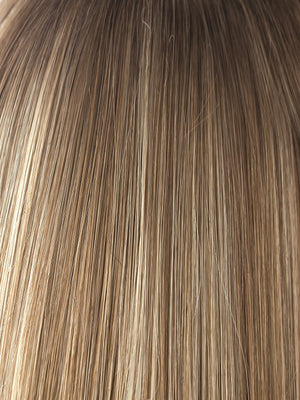 Rene of Paris Wigs | Spring Honey-R | Dark Honey Blonde with Gold Blonde Highlights throughout and Darker Rooting