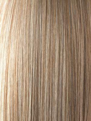 Noriko Wigs | SPRING HONEY | Honey Blonde and Gold Platinum Blonde evenly blended