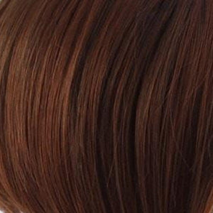 Raquel Welch Wigs | SS130 DARK COPPER | Bright Reddish Brown with Subtle Copper Highlights and Dark Roots