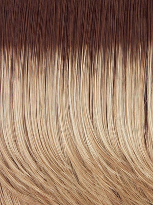 Hairdo Wigs - Color SS14 88H SHADED GOLDEN WHEAT (Dark Blonde Evenly Blended with Pale Blonde Highlights and Dark Roots)