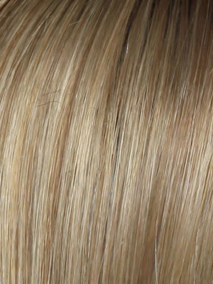SS14 25 SHADED HONEY GINGER Dark Blonde Evenly Blended with Medium Golden Blonde Highlights and Dark Roots