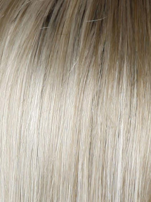 SS23 SHADED VANILLA Cool Platinum Blonde with Almost White Highlights and Dark Roots