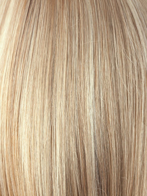 SUGAR-CANE | Platinum Blonde and Strawberry Blonde evenly blended base with Light Auburn highlight