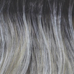 Rene of Paris Wigs | Shadowed Custard - Ashy brown root with blend of platinum blond and light honey blond highlights