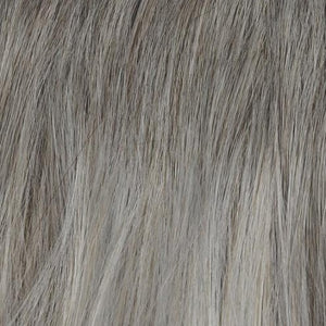 Rene of Paris Wigs | Silver Frost - Color 60 framing the face with a blend of 56 and light ashy brown