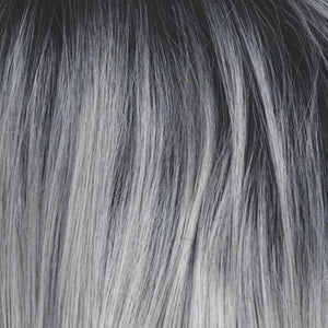 Rene of Paris Wigs | Silver Mist - Black root with silver