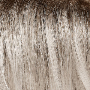 Jon Renau Wigs | Sleet | Pure White shaded with Dark Natural Ash Blonde