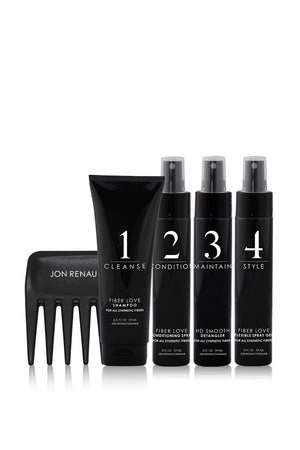 Jon Renau Wigs | Jon Renau Synthetic Fiber Care System | 5pc Travel Kit