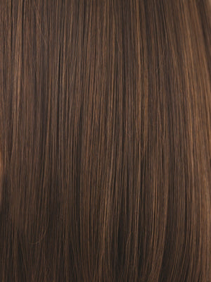Noriko Wigs | TOASTED BROWN | Dark Brown and Light Brown Blend