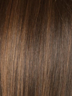 Noriko Wigs | TOASTED BROWN Dark Brown and Light Brown Blend