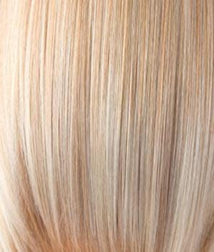 Rene of Paris Wigs | VANILLA-LUSH | Bright Copper and Platinum Blonde evenly blended tipped light
