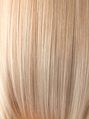 Noriko Wigs | VANILLA LUSH | Bright Copper and Platinum Blonde evenly blended tipped light