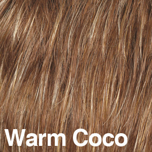 Dream USA Wigs | WARM COCO Strawberry Blonde (27) highlighted with Butterscotch Blonde (88)