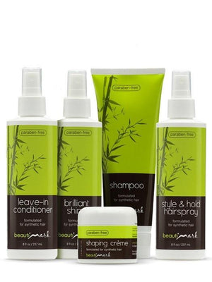 5 pc Care System for Synthetic Hair by BeautiMark