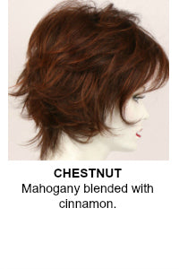 Godiva Secret Wigs | Chestnut