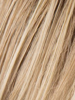 Ellen Wille Wigs | CHAMPAGNE ROOTED | Light Beige Blonde, Medium Honey Blonde, and Platinum Blonde blend with Dark Roots