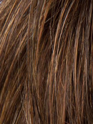 Ellen Wille Wigs | Mocca Mix | Medium Brown, Light Brown, and Light Auburn blend