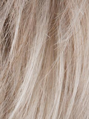 Ellen Wille Wigs | Pearl Rooted | Pearl Platinum blended w/ light chestnut brown-50% gray and Lightest Ash Brown mix