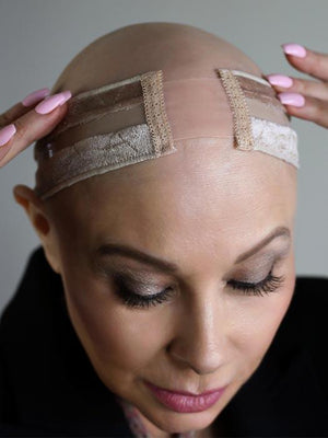 WigSECURE Crystal™ - Reversible Non-Slip Grip Band with Silk Front by Amy Gibson