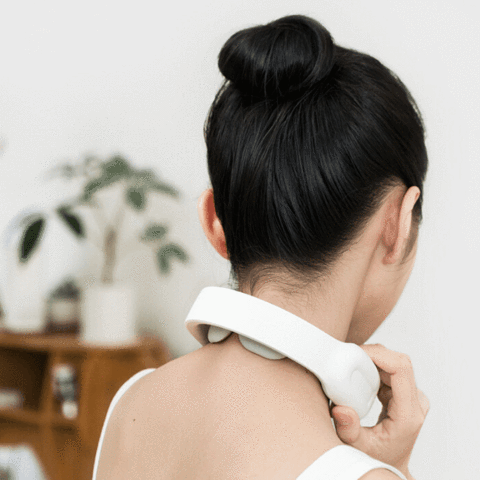 3-In-1 Heated Neck Therapy with Remote - Gadget