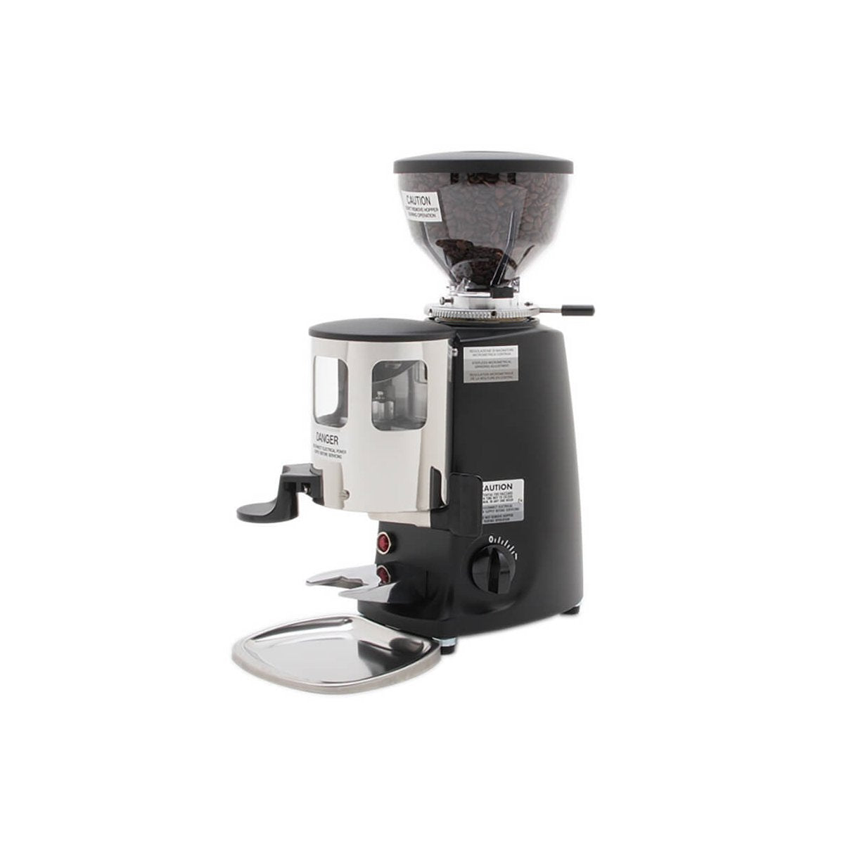 Mazzer Mini Black w/Doser & Short Hopper