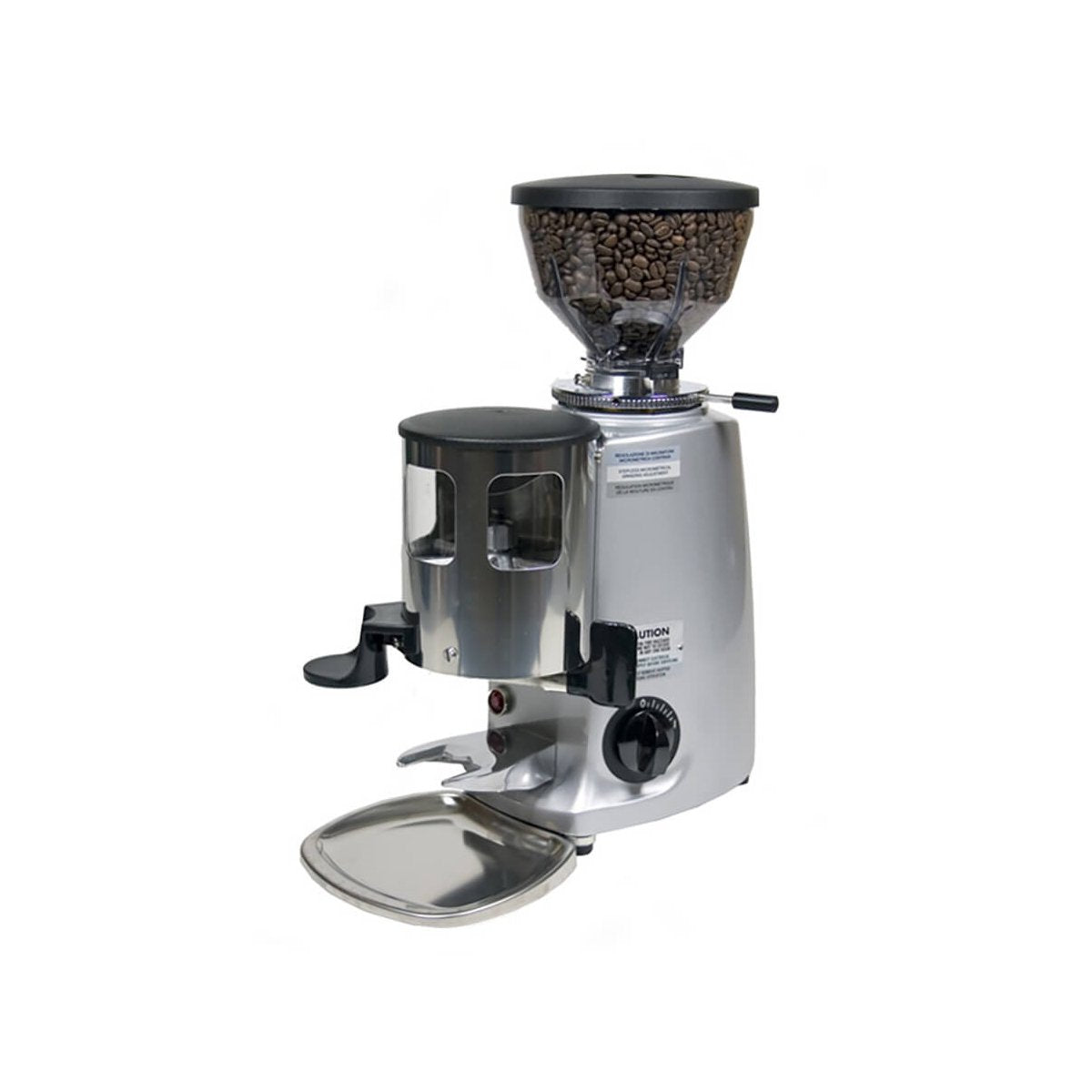 Mazzer Mini Silver w/Doser & Short Hopper