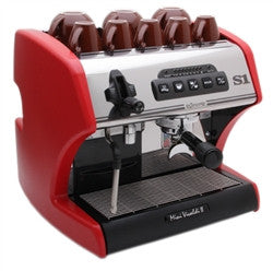 La Spaziale S1 Mini Vivaldi II Espresso Machine - Red - Denim Coffee Company  - 1
