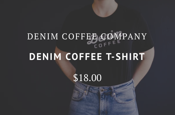 Denim Coffee T-Shirt