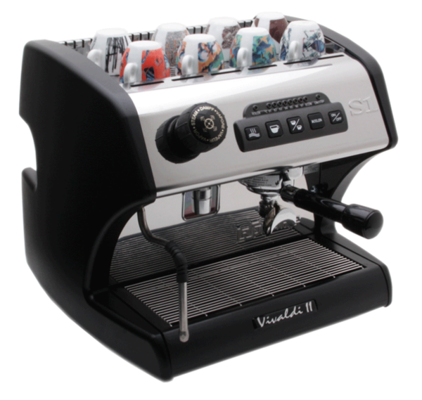 La Spaziale S1 Vivaldi II - Black - Denim Coffee Company  - 1