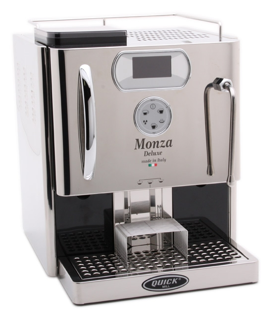 Quick Mill Monza Delux Evo - Stainless (Superautomatic) - Denim Coffee Company  - 1