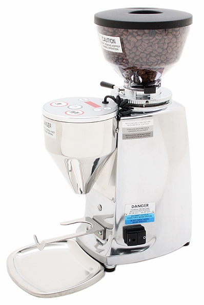 Mazzer Mini E Type A - Short Hopper - Polished - Denim Coffee Company