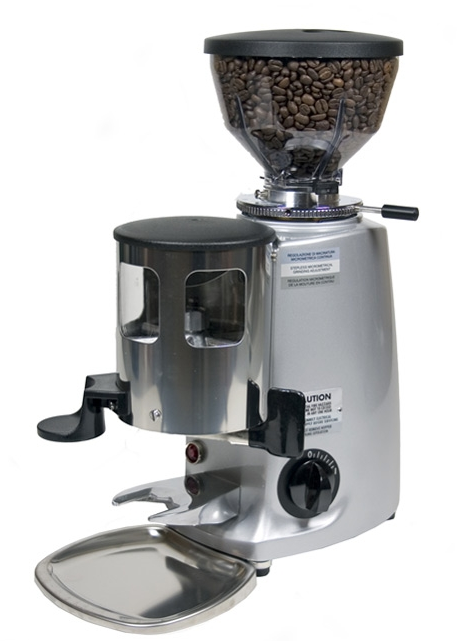 Mazzer Mini Espresso Grinder - Silver - Denim Coffee Company