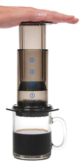Aerobie Aeropress with Tote Bag - Denim Coffee Company  - 1