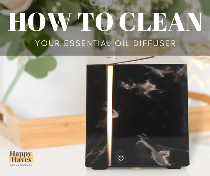 How to keep your oil diffuser new and clean