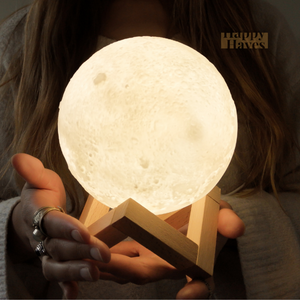 HappyHaves Full Moon® Diffusor und Lampe (2-in-1)