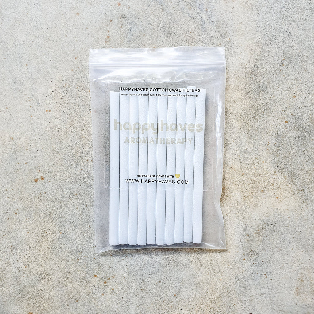 Happyhaves Full Moon 1.0 Cotton Swab Filters Pack (10 pcs)