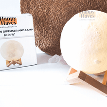 Load image into Gallery viewer, HappyHaves Full Moon® Diffusor und Lampe (2-in-1)