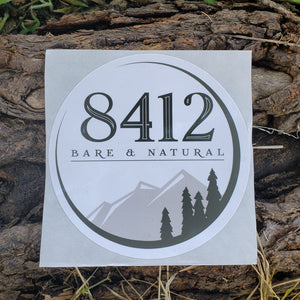 8412 Bare & Natural Sticker 3