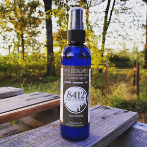8412 Cool Mist Cooling Mist All-Natural Lavender Peppermint Aloe Vera Witch Hazel Cooling Spray Texarkana Texas Arkansas