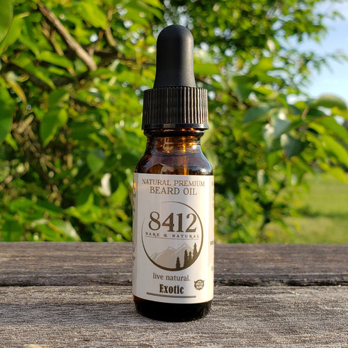 Exotic Premium Beard Oil blends essential oils from some exotic plants like Vetiver and Ylang Ylang flower, making this mix very fascinating and a definite go-to item. Its unique smell will set you apart from the crowd and put you high on that pedestal of attraction.