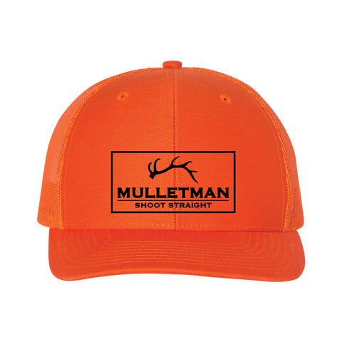 Mulletman Shoot Straight Trucker Hat