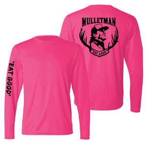 Mulletman Eat Good Performance Long-Sleeve