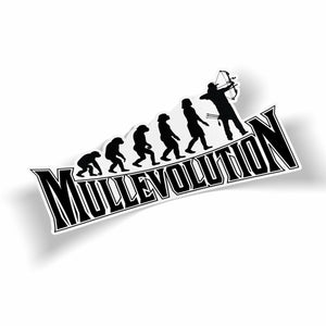 Mullevolution Bumper Sticker